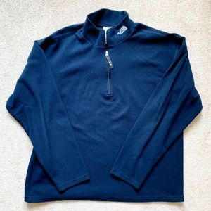 Blue Men's North Face Flight Series quarter-zip